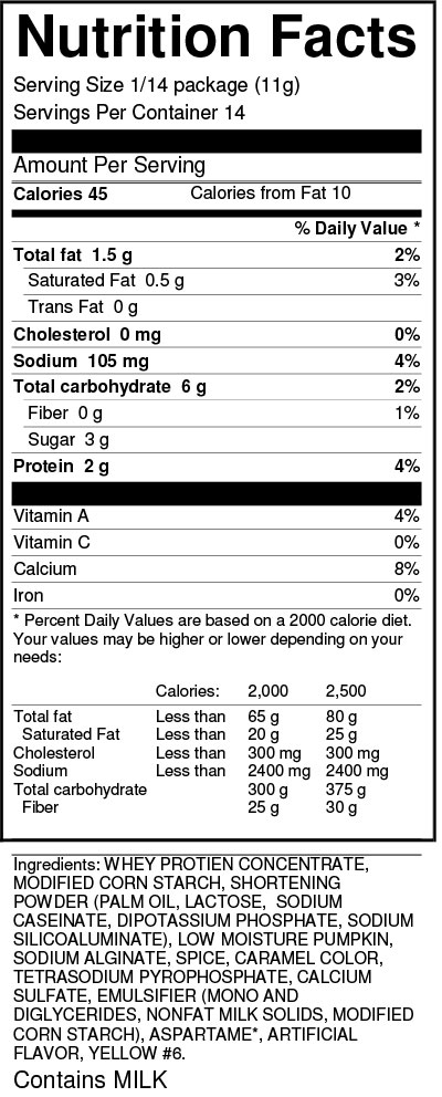 sans-sucre-no-sugar-added-pumpkin-pie-filling-mix-nutrition-facts