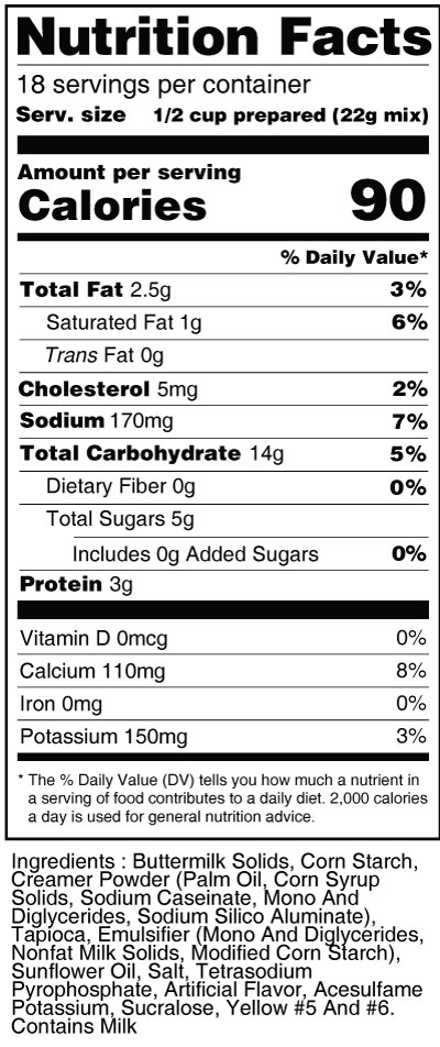 calorie-control-tapioca-pudding-nutrition-facts