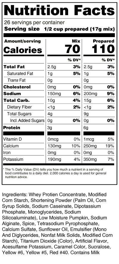 calorie-control-pumpkin-cheesecake-mix-nutrition-facts