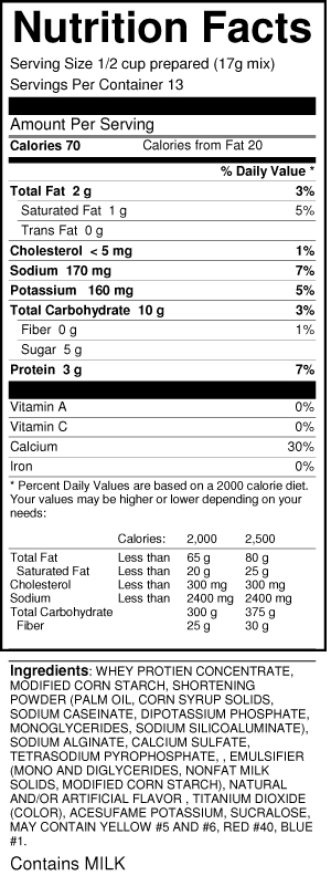 calorie-control-instant-pudding-coconut-nutrition-facts