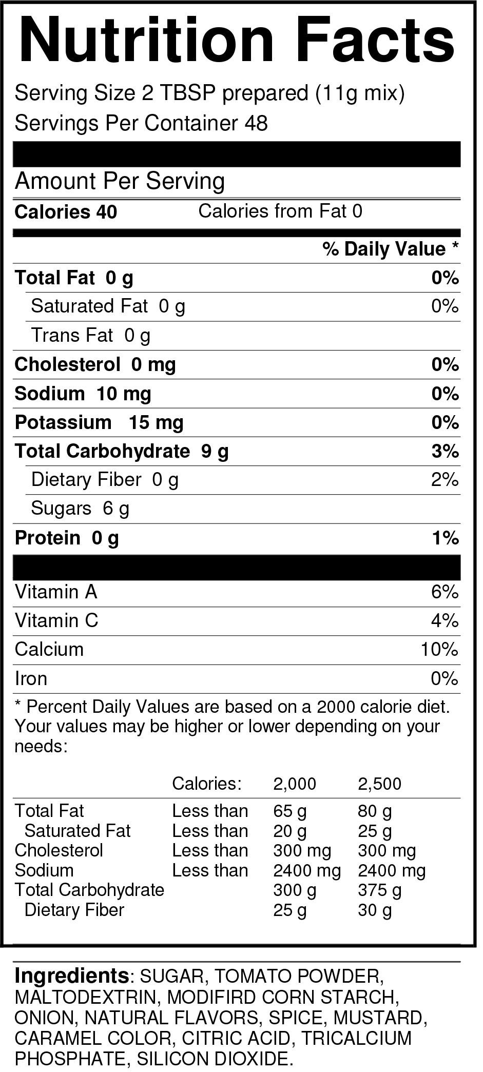 bernard-barbecue-sauce-low-sodium-nutrition-facts