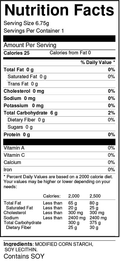 ultra-thixx-6.75-gm-pouch-20-per-box-nutrition-facts