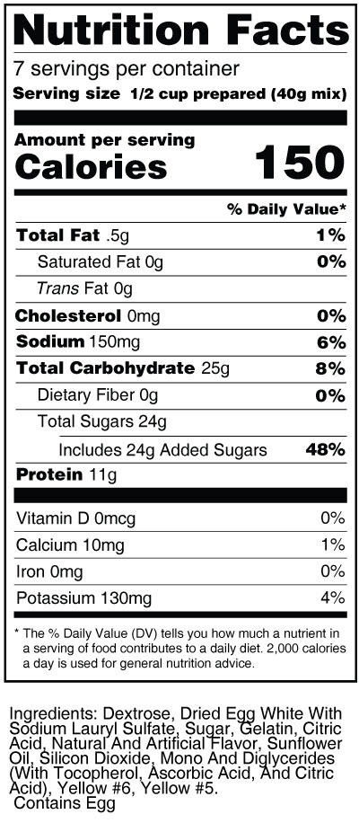 bernard-high-protein-gelatin-mix-orange-nutrition-facts