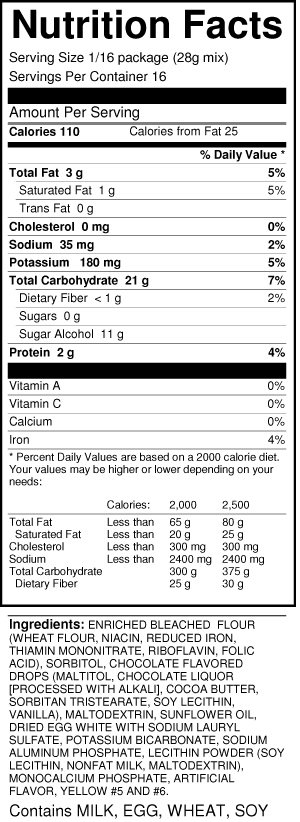 bernard-chocolate-chip-cookie-mix-nutrition-facts
