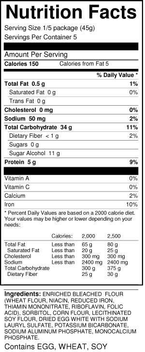 sweet-n-low-pancake-mix-nutrition-facts