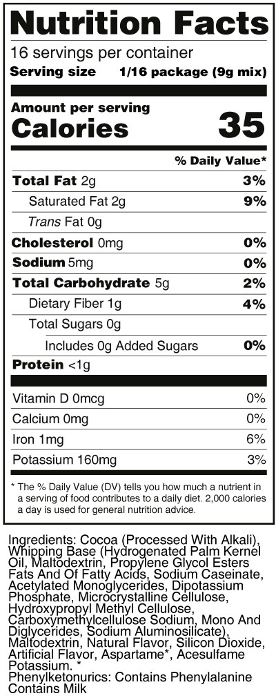 sweet-n-low-chocolate-frosting-mix-nutrition-facts